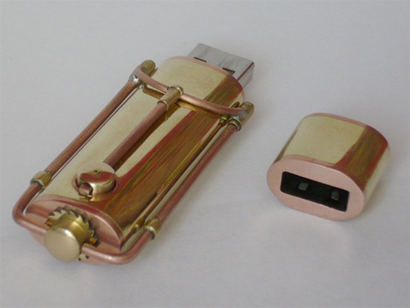 Brass USB stick