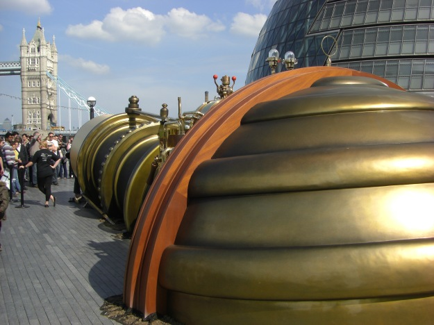 The Telectroscope, London end.